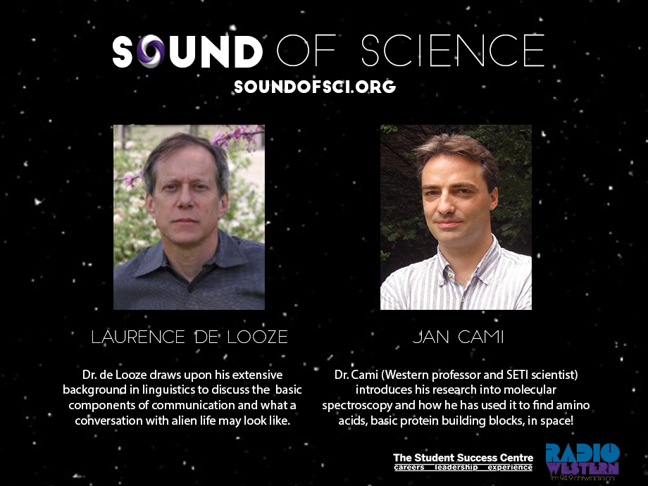 Dr. Jan Cami on Sound of Science Podcast Logo